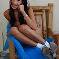 Sweet and skinny Manila girl Eloisa posing nude - image 2