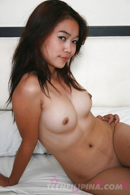 23 year old filipina girl marian charis sucks her own tits - 1 6