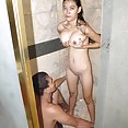 Busty filipina babe and boyfriend have sex in the shower - image 2