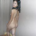 Petite 18 year old filipina babe nude at our hotel - image 2