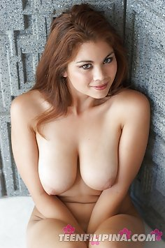 Mixed asian girl mai shows off epic rocking tits