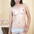 Sweet filipina lbfm squeezes her tiny tits together - image 2