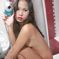 Horny filipina girl friend emailed in these nude pics - image 2