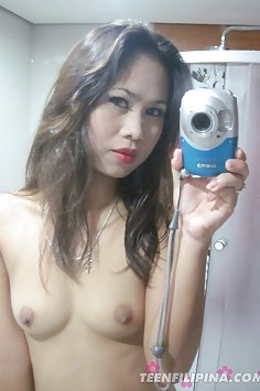 Horny filipina girl friend emailed in these nude pics