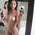 Real filipina girl friends show off their self shot pictures - image 2