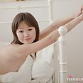 Petite young asian teen alicia shows tiny tits - image 2