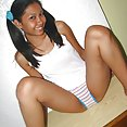 Pigtailed and gorgeous lbfm teen rowena - image 2