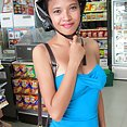 Puffy nipple thai girl friend picked up and banged - image 2