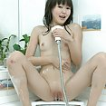 Petite asian beauty alicia gets soaped up - image 2