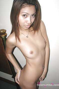 Nervous looking first time nude shows her stuff