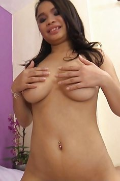 Big tits and full of some guys cum