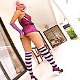 Pink haired Asian cosplay sex - image 2
