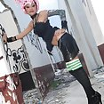 Freaky Thai cosplay girl - image 2