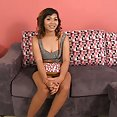 Big tittied thai cutie arrives for a gogo interview - image 2