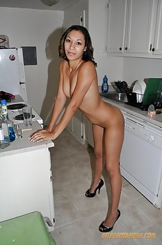 Cute mixed blasian nude girl friend