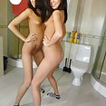 Ultra skinny naked Chinese girl friend - image 2